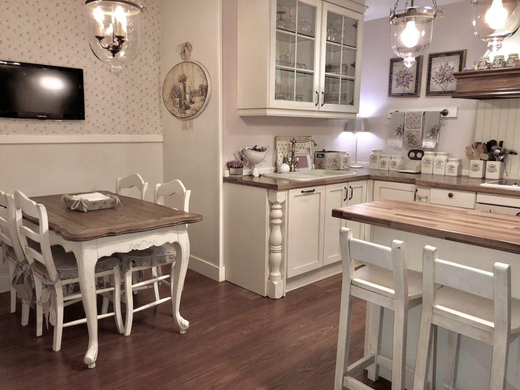 Cocina de estilo shabby chic cotton house - Cocinas estilo shabby chic ...
